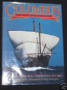 COLUMBUS-For-Gold-God-amp-Glory-John-Dyson-HB-1991-1st-US-History