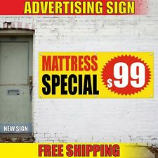 Mattress Special Banner Advertising Vinyl Sign Flag Shop Sale Furniture Custom