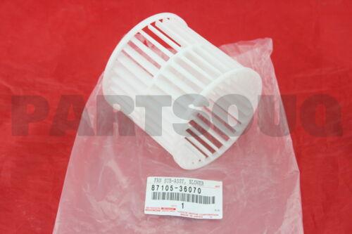 NO.2 87105-36070 8710536070 Genuine Toyota FAN COOLER BLOWER