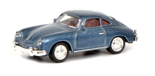 Schuco Porsche 356 Coupé Azul 26377