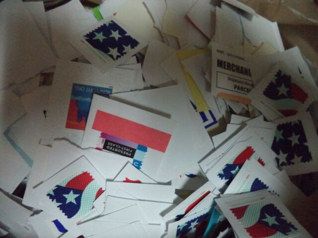 5 POUND BULK PREPAID NON PROFIT US STAMPS FLAG US EAGLE 1ST CLASS CLEAN ON PAPER