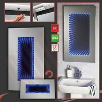 Infiniti Led Designer Infra-red Bathroom Mirror (demister, Shaver Socket)