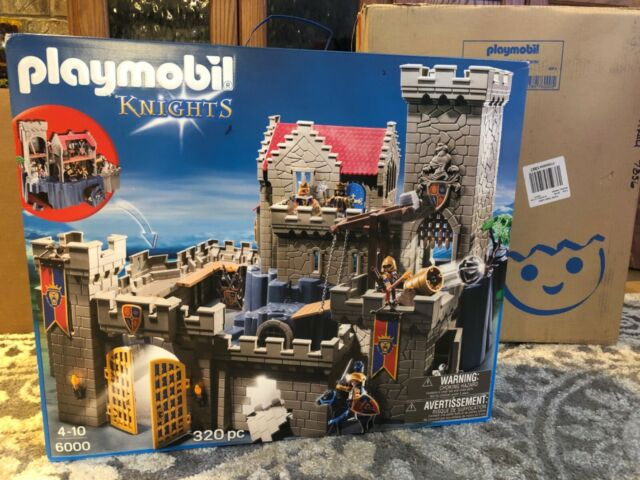 So COOL! New in Box 6000 Playmobil Royal Lion Knights Castle. VERY LARGE