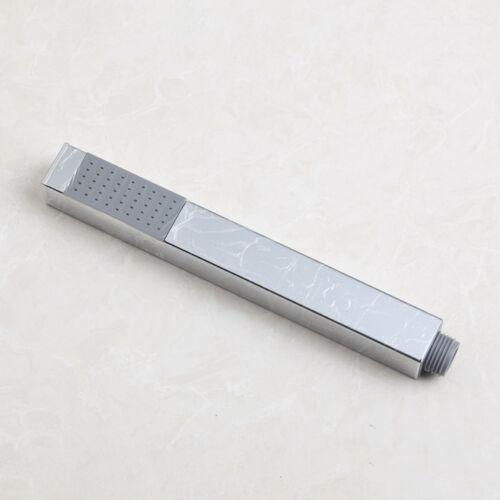 Floor Mount Free Standing Bathroom Tub Filler Mixer Faucet Hand Shower Spray Tap