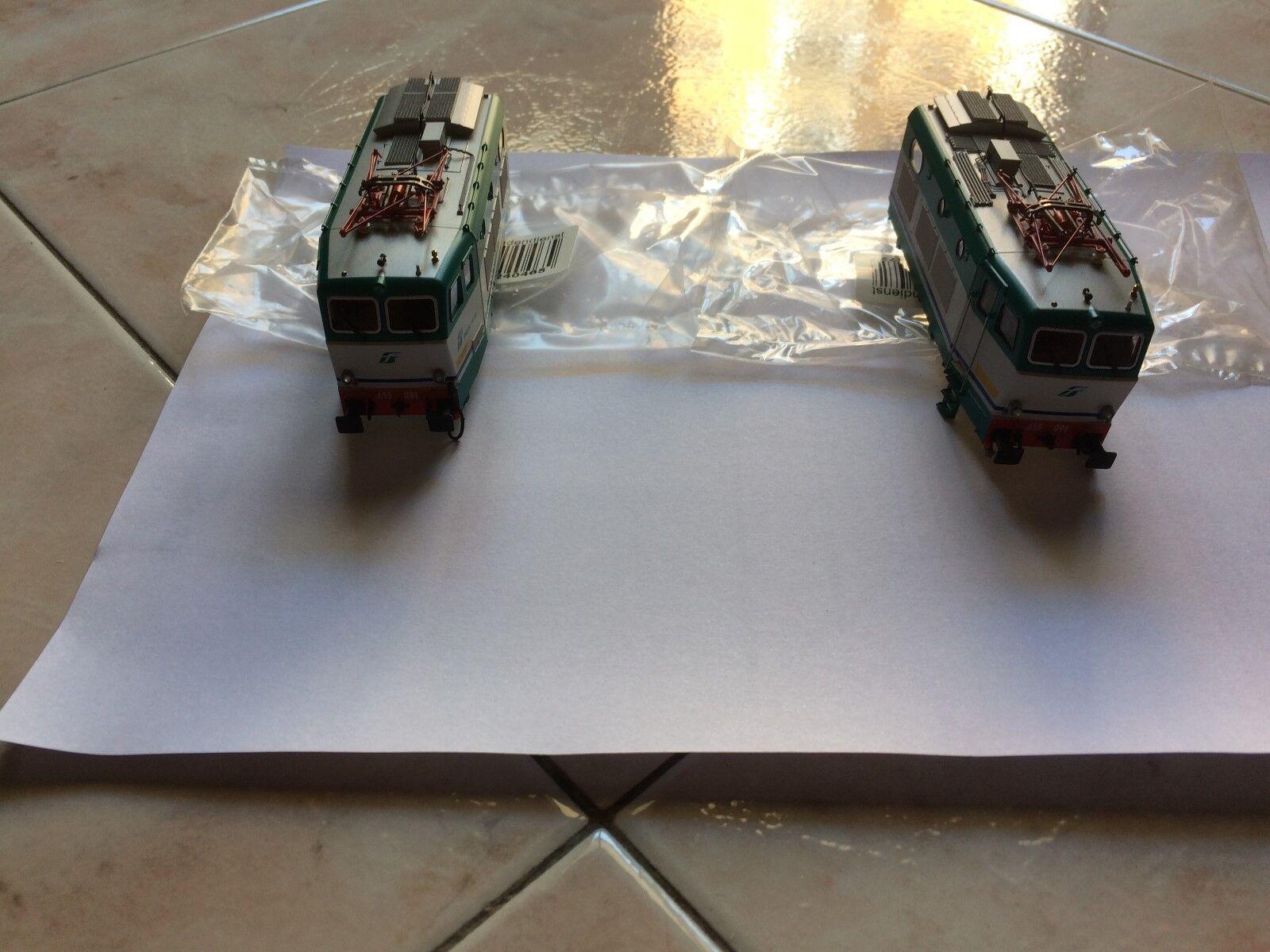 Roco 62574 coppia casse A-B  E655.094 livrea XMPR