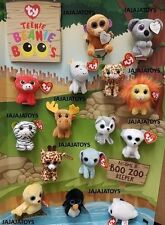 MCDONALD'S 2017 TEENIE BEANIE BOOS - COMPLETE SET - READY TO SHIP