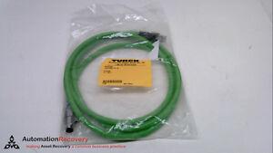 ETHERNET CABLE TURCK RJ45 RJ45 442-2M//C1195 NEW #114552 2 METERS,
