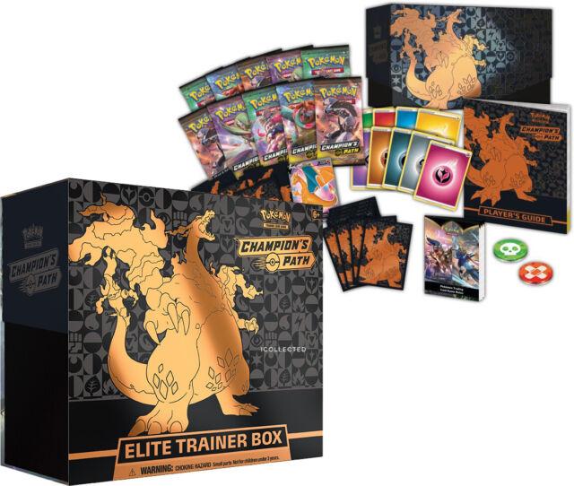 Champion's Path Elite Trainer Box ETB Pokemon Cards Sealed w/ 10 Booster Packs++