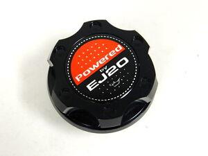 CNC Aluminum Oil Filler Cap Black For SUBARU WRX STI BRZ Impreza Legacy Forester