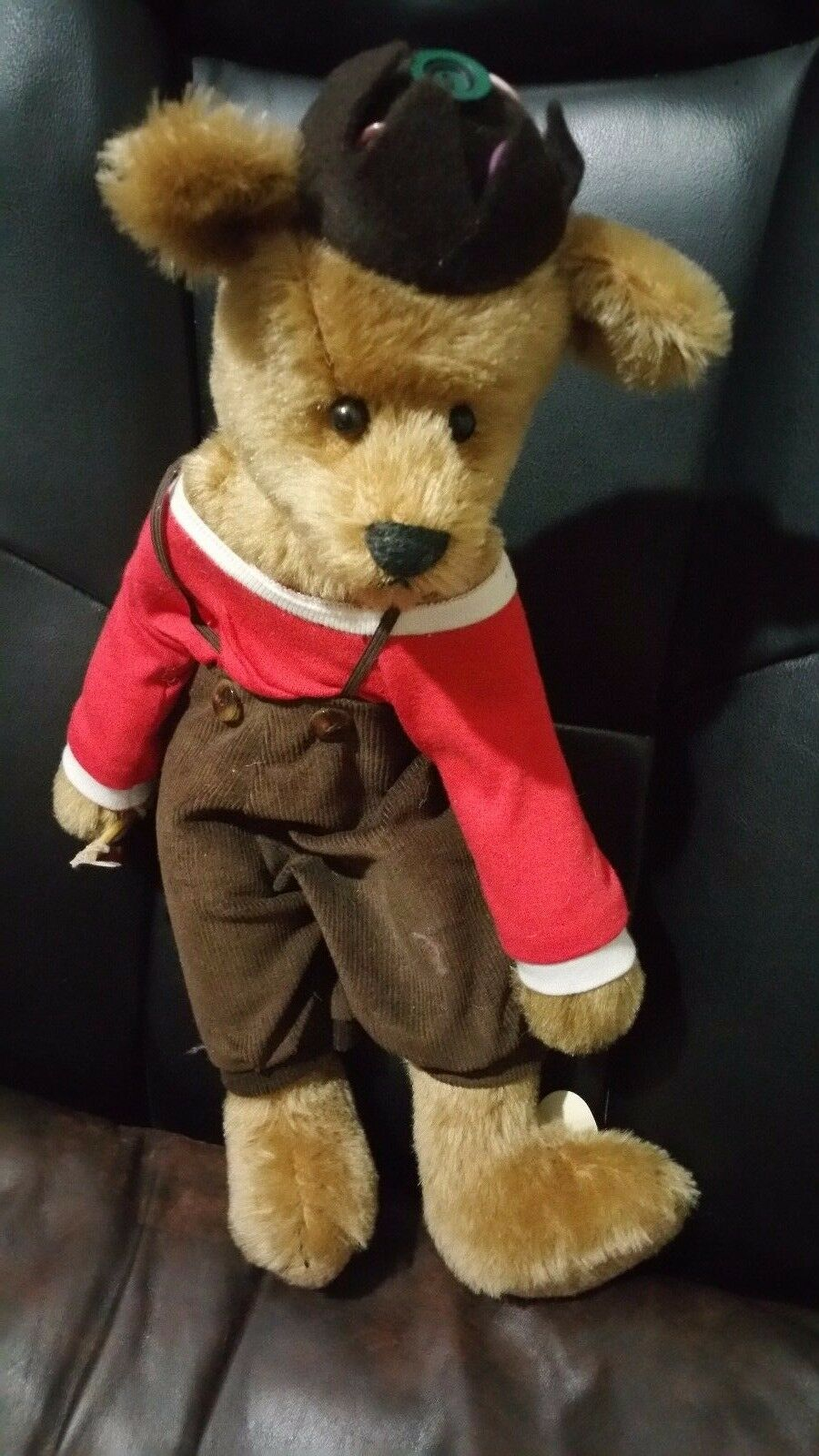 Bearly there inc. Bear Spanky by Linda Spiegel Handcrafted Mohair