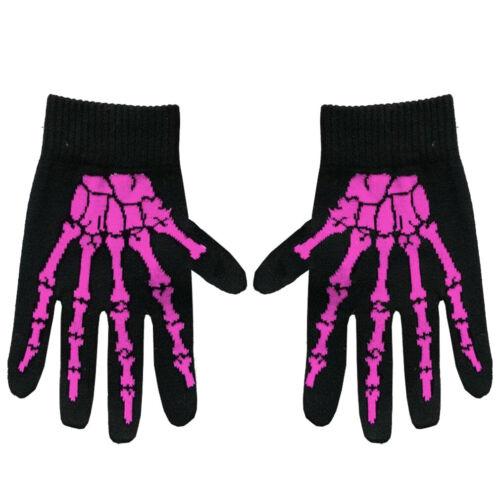 Knochen Pink Handschuhe Rock Daddy