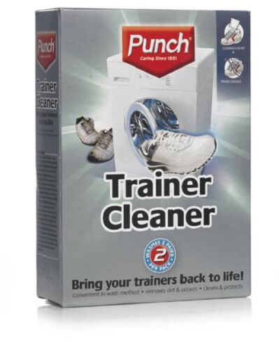 Trainer Cleaner Punch Washes 2 pairs per pack 4X 15g Bring trainers back to life