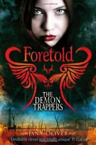 Foretold-The-Demon-Trappers-by-Oliver-Jana-Book-The-Cheap-Fast-Free-Post