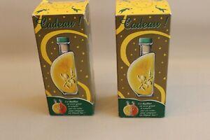 2 bouteilles en verre pour huile et vinaigre- huilier objet publicitaire Lesieur J8iS5OPQ-09173228-476998734