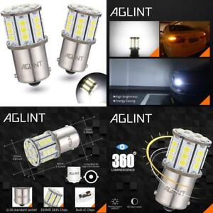 Aglint 1156 Led Bulb 2835 33-Ex Chips P21W 382 Ba15S 7506 1141 1003 Used For Bac