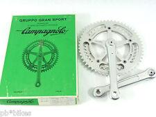 Campagnolo Crankset Gran Sport 1981 170mm 53 42 chainrings Vintage Bicycle NOS