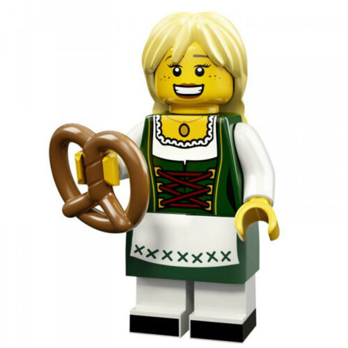 LEGO MINIFIGURE 11//71002//BAVARIAN GIRL//LA BAVAROISE//SACHET NON OUVERT//NOT OPEN