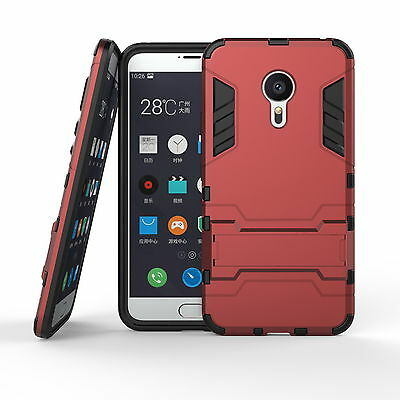 Shockproof Hard Hybrid Armor Stand Protective Case Cover For Meizu MX5 / Pro 6 5