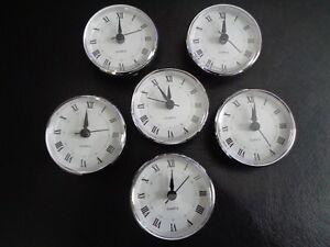 10 Pak 2 3470mm Quartz Clock Fit Upinsert Roman Numeralwhite - 3-roman-numerals-clocks
