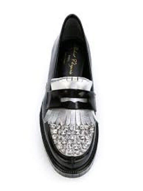 BN Robert Clergerie pavir strass mocassins creepers Taille uk 3 eu 36
