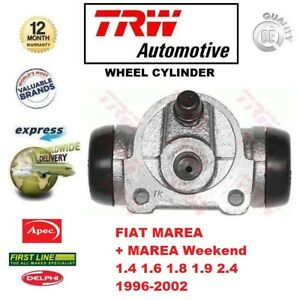 FOR FIAT MAREA + Weekend 1.4 1.6 1.8 1.9 2.4 1996-2002 REAR AXLE WHEEL CYLINDER