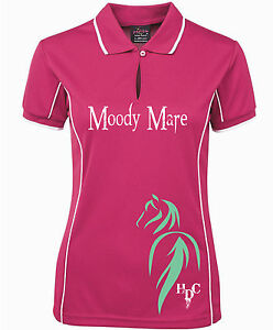 HEELS-DOWN-CLOTHING-LADIES-MOODY-MAR-POLO-ALL-SIZES-AVAIL-U-CHOOSE-COLOUR