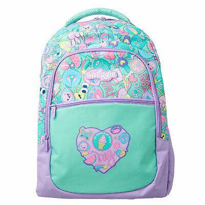 Smiggle Deja Vu backpack in purple