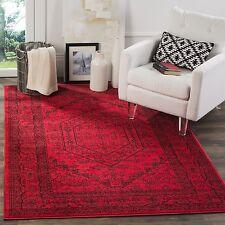 Safavieh Adirondack Vintage Red/ Black Rug (6' Square)