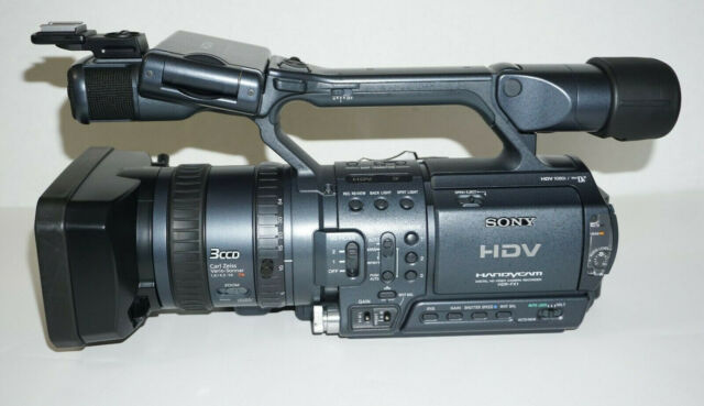 Sony Fx 1 3ccd High Definition Dv Camcorder For Sale Online Ebay