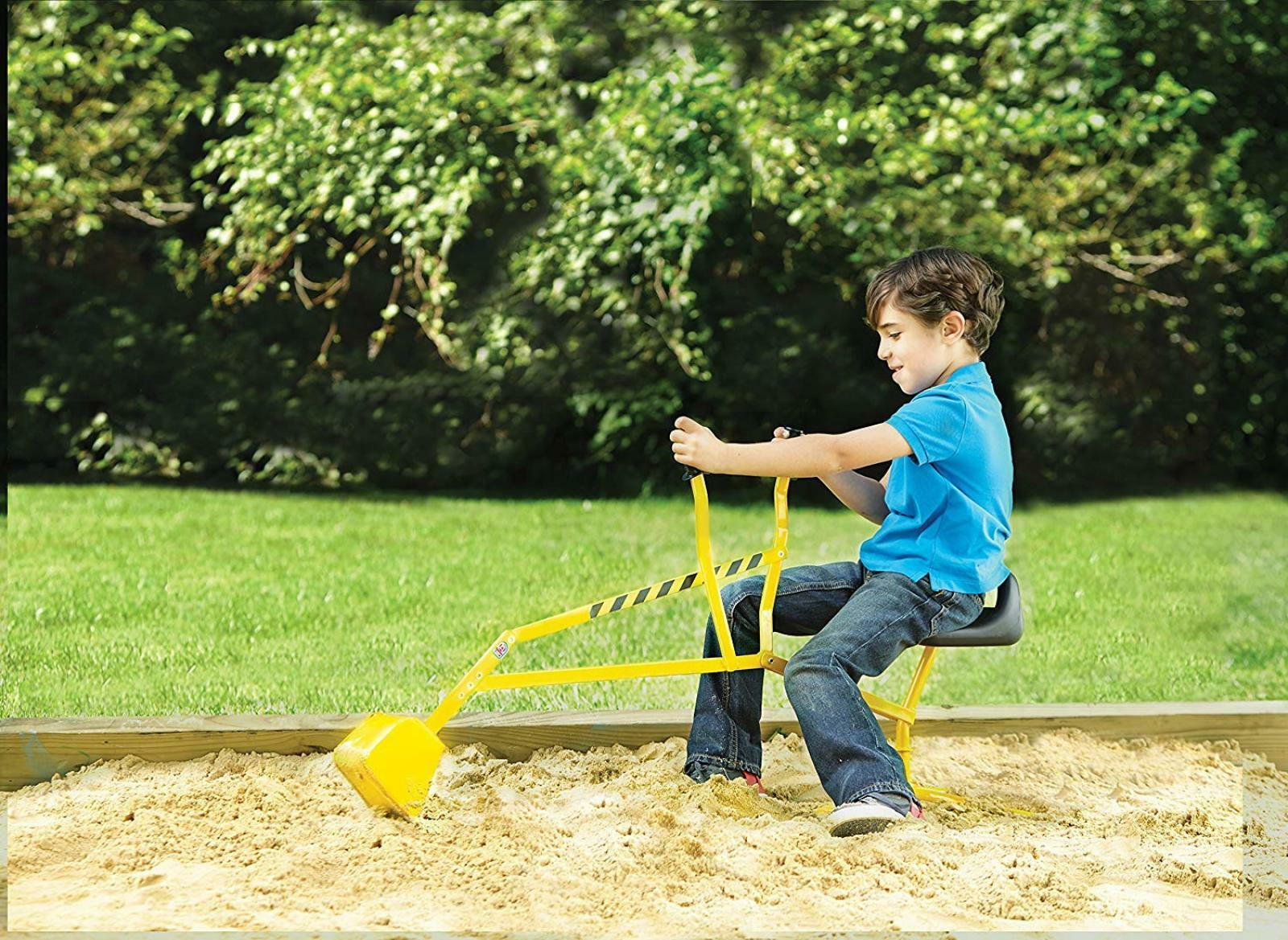 Excavator Toy Construction Kids Outdoor Sandbox Play Play Play Crane Toy Digging Ride On 0b35e3