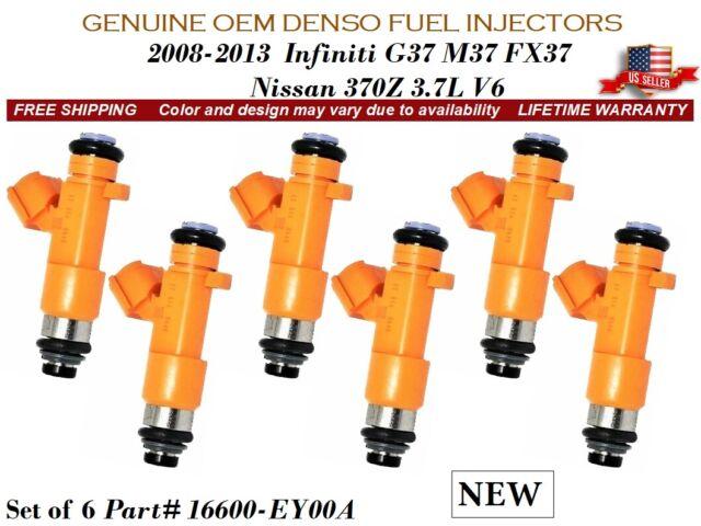 Infiniti G37 3.7L V6 />2008-13/< 1x BRAND NEW OEM Denso #16600-EY00A Fuel Injector