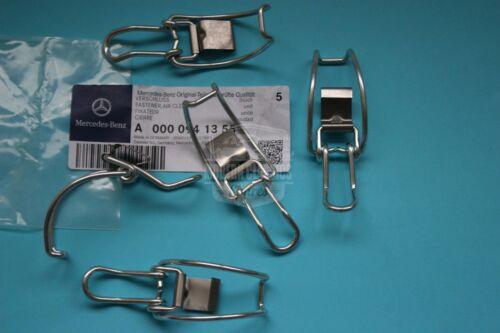 5x Genuine MERCEDES M102 Air Cleaner Intake-Box Housing Clip Clamp A0000941355