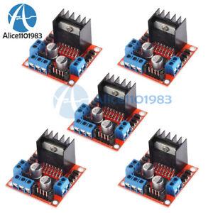 MOTORE passo-passo 5PCS unità Controller Board Modulo L298N DUAL H PONTE DC ARDUINO