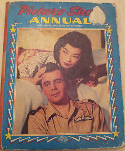 1959-Picture-Show-Annual-Front-cover-Dirk-Bogarde-amp-Yoko-Tani