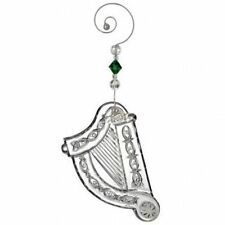 2013 Waterford Crystal Annual Irish Harp Christmas Ornament New in Box 160071
