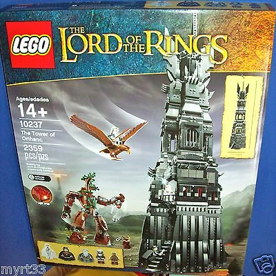 Retired NISB Lego 10237 The Tower of Orthanc Lord of the Rings