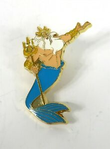 Disney-Loungefly-Princess-Little-Mermaid-Pin-King-Triton-New