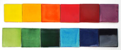 Fliesenset Regenbogen Wandfliesen 12 Farben