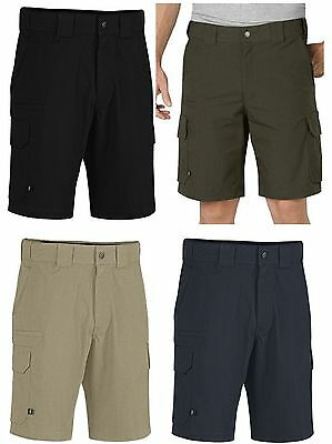 9bd4aa3aae Mens Relaxed Fit Tactical Cargo Shorts - Dickies Stretch Rip-Stop Duty Short