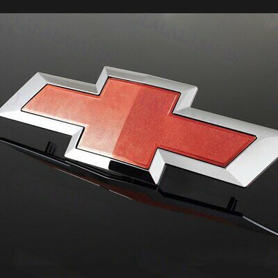 For 2014-2016 Chevy Silverado 1500 2500 3500 Black Grill Bow tie Bowtie Emblem