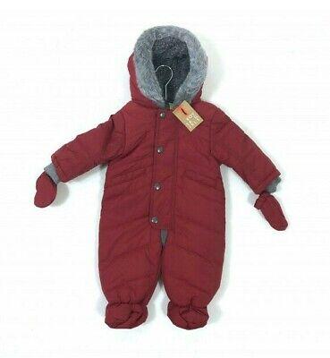 Ex Store Baby Denim Winter Snowsuit Pramsuit sizes 6-9,9-12 months