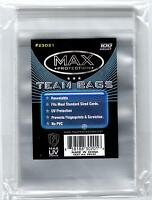 2000 Max Pro Resealable Sports Card Team Bags 1-pack Ultra Uv Protected on Sale