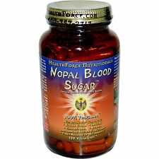 Nopal Blood Sugar - 180 Vegan Caps by HealthForce Nutritionals - Cactus Extract