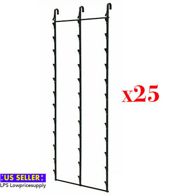 Two New 3 Strips 39 Clip Potato Chip Candy /& Snack Black Hanging Display Racks
