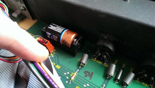 VFX-SD ESQM Battery Holder FIX Replacement SD-1 Ensoniq ESQ1 SQ80