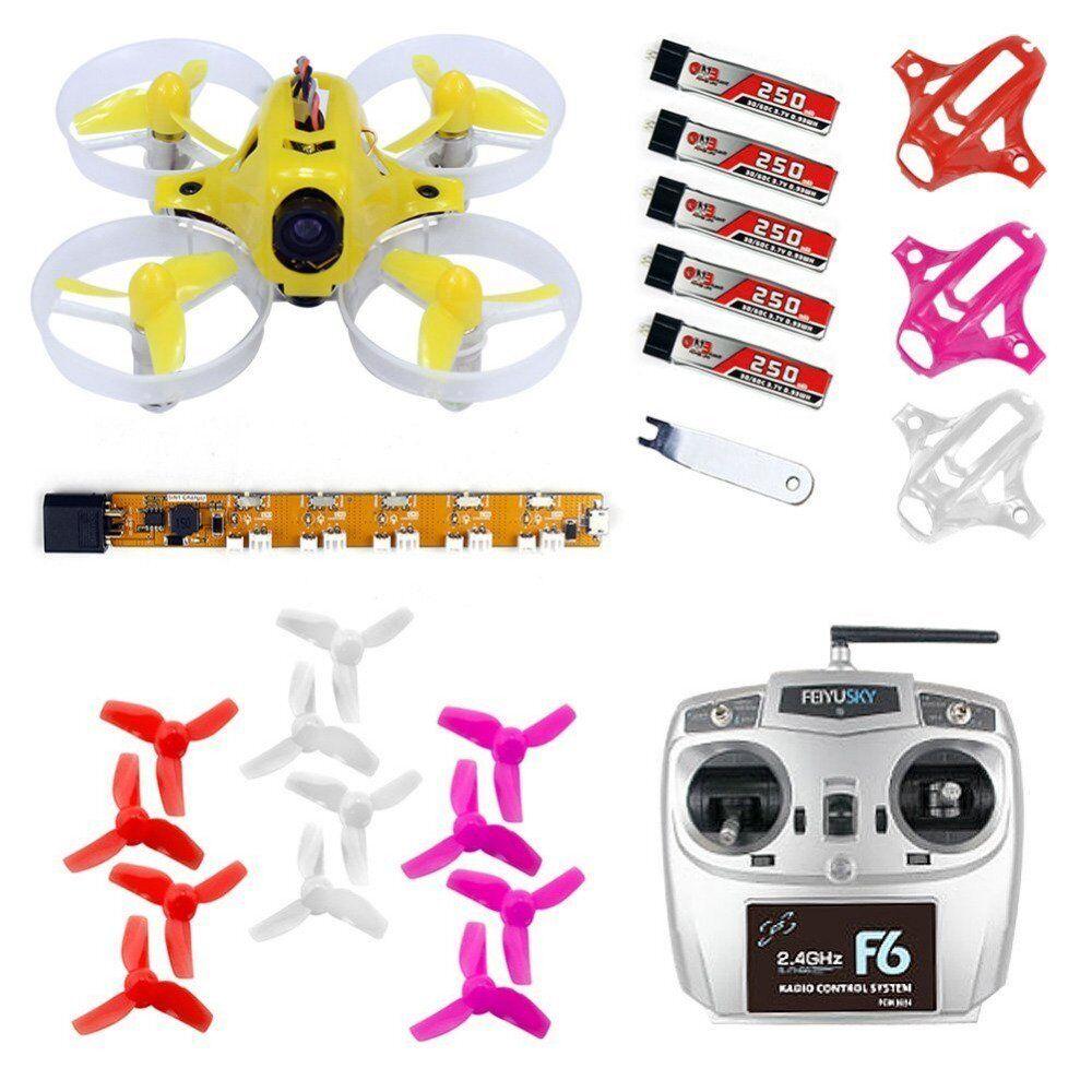 KingKong Tiny 6 Tiny 6 RTF pronto a volare Combo 65mm MICRO FPV Quadcopter Drone