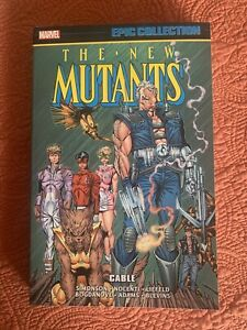 Marvel Epic Collection New Mutants  Volume 7 Cable TPB X-Men Graphic Novel