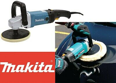 "Makita 9227C 7/"" Hook And Loop Variable Speed Electronic Polisher//Sander"