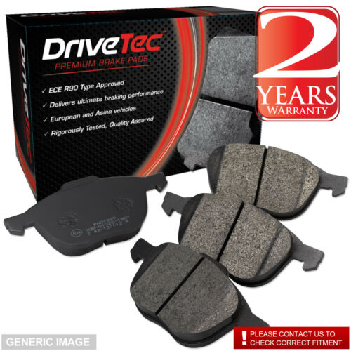 Seat Altea 04-13 1.9 TDI MPV 104 Drivetec Rear Brake Pads 255mm For Solid Discs