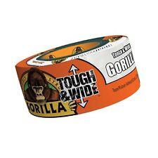 "Gorilla Tape 2.88/"" x 25 Yards Tough /& Wide in White"